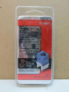 on q legrand cat 6 rj45 data jack insert wp3460 be v1 blue. Black Bedroom Furniture Sets. Home Design Ideas