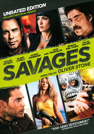 Savages (DVD, 2012, R Rated) Brand New Super fast free shipping!