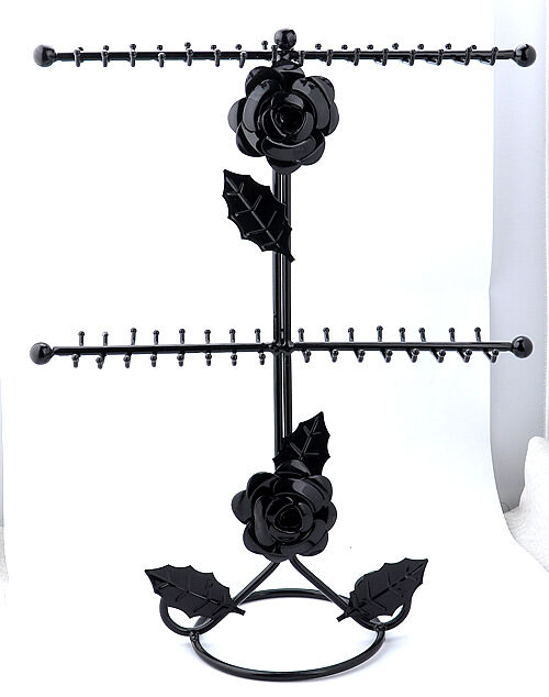new style Necklace Bracelet Jewelry Display Rack Holder Tree black