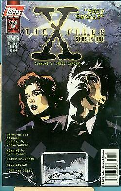 "The X-Files: Season One #1-A ""Deep Throat"" (Aug 1997, Topps)"
