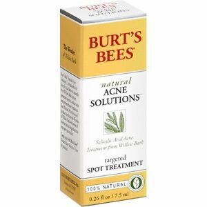 Burt's Bees Natural Acne Solutions Targeted Spot Treatment for Oily Skin 0.26 Oz 3