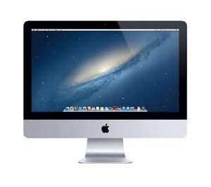"""Apple iMac 21.5"""" quad core i3 3.3Ghz 8 Go 500 Go (2013) Bon état Grade 12 M Garantie"""
