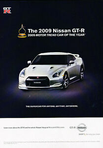 Nissan Gt R Supercar Classic Vintage Advertisement Ad