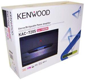 Kenwood-KAC-7205-2-Channel-Car-Amplifier-Class-A-B-Car-Audio-Amp-1000Watt