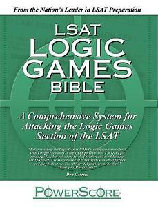 The powerscore lsat logic games bible 9780980178203 ebay image is loading the powerscore lsat logic games bible malvernweather Images