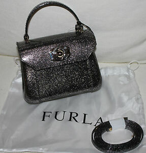 New-Furla-Mini-Jelly-Glitter-Candy-Onix-Satchel-Bag-NWT
