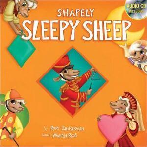 Shapely-Sleepy-Sheep-by-Rory-Zuckerman-2007-Board-Book-CD-Rory-Zuckerman-2007