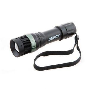 Dorcy-High-Beam-LED-Aluminum-Flashlight-130-Lumens-Water-Resistant-W-Strobe