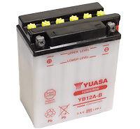 Batterie-Moto-HONDA-600-XL600-Transport-Yuasa-YB12A-B-12v-12Ah