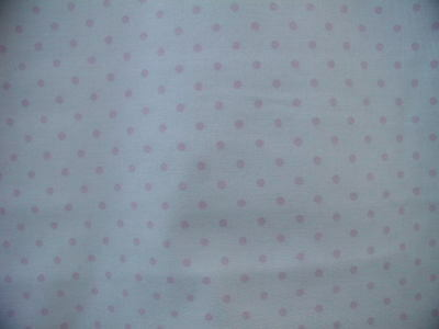 Yuwa Light Pink Dots on Pale Pink  Antique French  Rose Collection by the Yd.