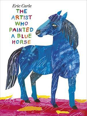 The Artist Who Painted a Blue Horse-ExLibrary