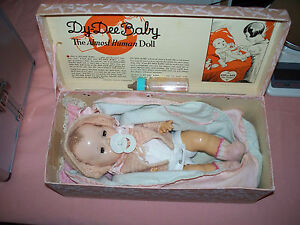 Vintage-Effanbee-Dy-Dee-Baby-Doll-10-With-An-Original-Box-1934