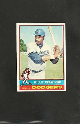 1976 Topps # 76 Willie Crawford NM-MT