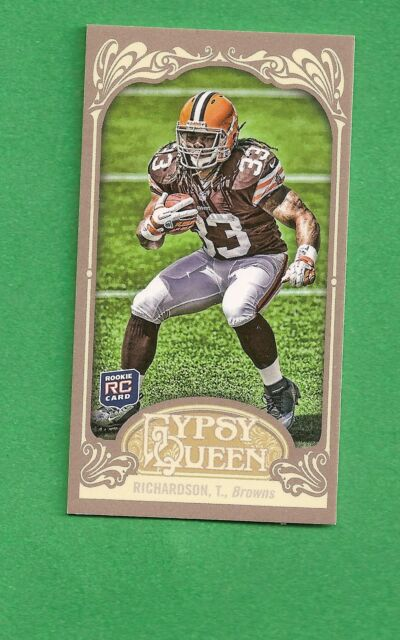 2012 Gypsy Queen mini RC National Convention #3 TRENT RICHARDSON Browns