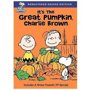 image is loading its the great pumpkin charlie brown halloween dvd
