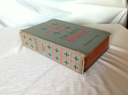 The Holy Bible Confraternity Version Benzinger Brothers 1961