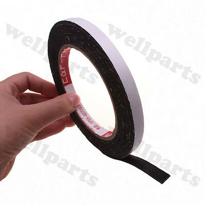1 roll 3M 4mmX50m Black Double Sided Adhesive Tape for LCD touch screen