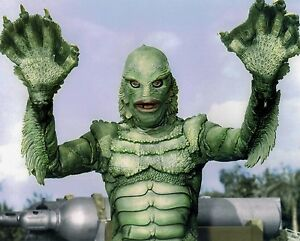 Creature from the black lagoon color 8x10 photo ebay for Creature from the black lagoon coloring pages