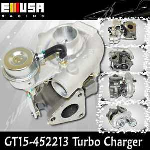 Emusa Turbo Charger Gt15 T15 Motorcycle Atv Bike Small