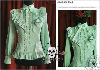 Goth lolita EGL princess diary Crescent Elegy flounce gentry blouse shirt G
