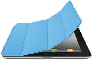 Genuine-Original-Apple-iPad-2-3-4-MD310LL-A-Polyurethane-Smart-Case-Cover-BLUE