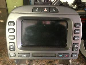 jaguar x type sat nav front touch screen satellite navigation climate ebay. Black Bedroom Furniture Sets. Home Design Ideas