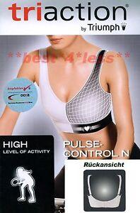 Sport-BH-TriAction-Pulsecontrol-N-weiss-black-schwarz-rot-NEU-TRIUMPH-1A