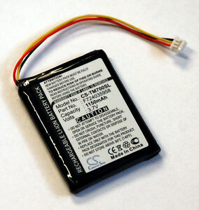 NEW-Battery-TomTom-ONE-XL-GPS-3-7-Volts-1150mAh-tom-F724035958-replacement-NEW
