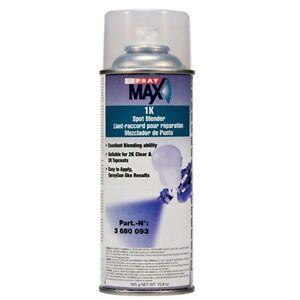 spray max 1k spot blender for 2k clear and topcoats blending dry. Black Bedroom Furniture Sets. Home Design Ideas