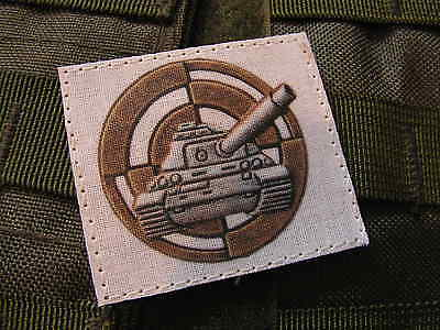 Patch Velcro -- insigne brevet tireur canon - AMX LECLERC AML blindé tank char