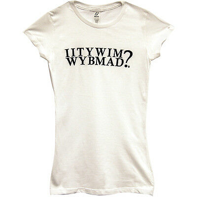 IITYWIMWYBMAD? Womens T-Shirt - Funny Bartender Drinking Apparel Beer Clothing