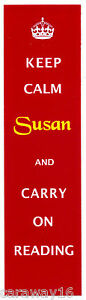 Personalised-Laminated-Bookmark-Keep-Calm-Carry-On-Reading-Or-your-wording
