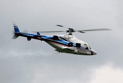 BELL 222 Scale Fuselage + Retractable Landing Gear BLUE