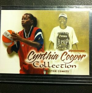 2000-Fleer-WNBA-Insert-collection-Cynthia-Cooper