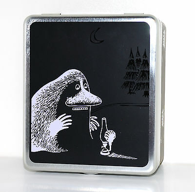 Moomin Tin Can for Tea Bags Groke Martinex Finland