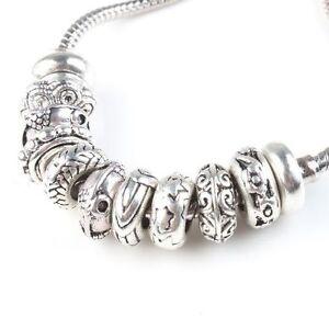 10-50x-Wholesale-Tibetan-Silver-Charms-Rubber-Alloy-Spacer-Beads-Fit-Bracelets-L