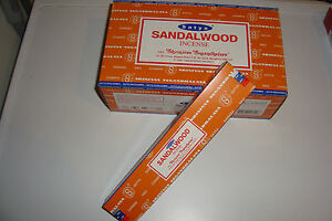 Nag-Champa-034-Sandalwood-034-Incense-3x15g-boxes-of-Incense-uk-seller