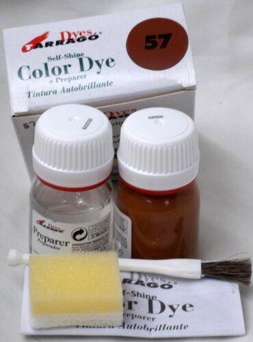 Tarrago Leather Color Dye Kit with Preparer Canvas Imitiation Colors 31-60