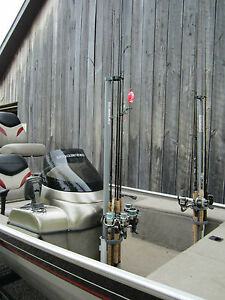 Fishing rod holder and tote m poles ebay for Fishing rod tote