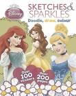 Disney Princess Scribbles and Sparkles by Parragon (Paperback, 2013)