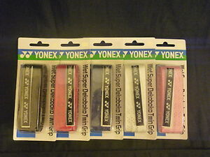 100% ONE Geniune YONEX AC134 Wet Super Dekoboko Twin Grip, JP version