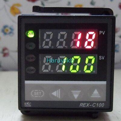 Relay Dual PID Digital LED Temperature Control Controller Thermocouple Aquarium