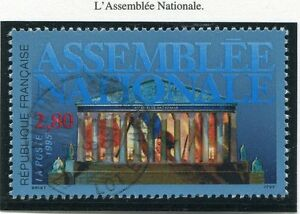 TIMBRE-FRANCE-OBLITERE-N-2945-ASSEMBLEE-NATIONALE-Photo-non-contractuelle