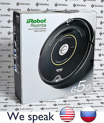 New iRobot Roomba 650 Vacuum Robot - 220v 240v UPGRADE