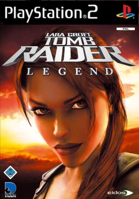 Lara Croft Tomb Raider Legend mit Anleitung (PS2) - DVD wie Neu
