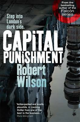 """VERY GOOD"" Wilson, Robert, Capital Punishment, Book"