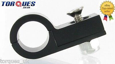 AN -8 (AN8) Black TEFLON 13.5mm O.D Hose Clamp P Clip