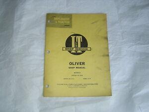 I-amp-T-Oliver-44-440-tractor-service-repair-shop-manual