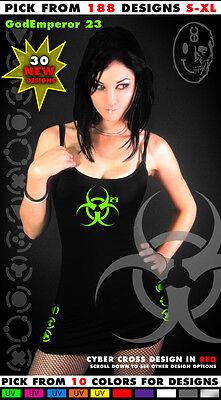 GodEmperor 23 Punk Goth Cyber Goth Rave Punk Rivit Industrial Emo EBM Dress