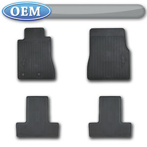 Oem New 2011 Ford Mustang All Weather Vinyl Floor Mats